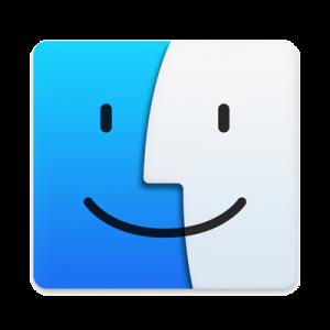 Finder® icon, macOS