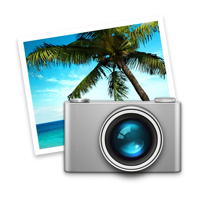 iPhoto® 9.6 icon.  iPhoto Help and Tuition