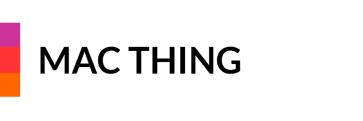 Mac Thing - technical support and tuition in London